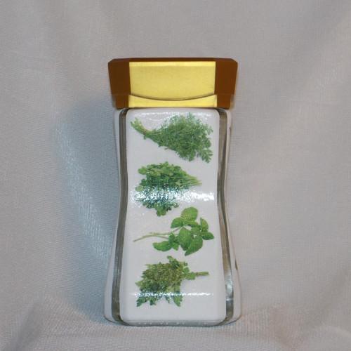 Dóza na zelené bylinky