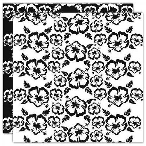 Čtvrtka Hawaii  - Black and White