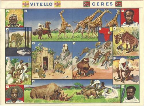 Reklamní okénko pro děti Afrika