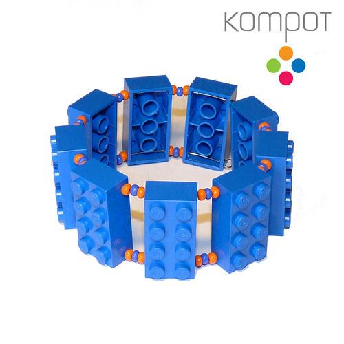 LEGO náramek :: modrý