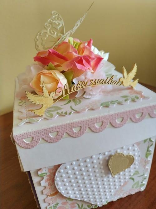 Rozpadající se krabička - svatební