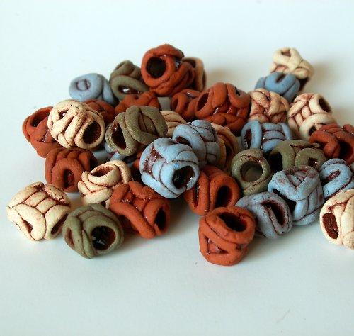 Korálky keramické