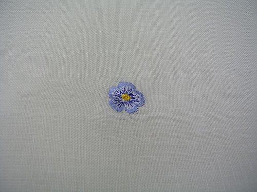 Bílé prostěradlo rovné ze 100% lnu