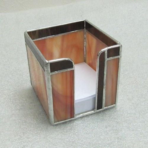 Krabička na poznámkové lístky