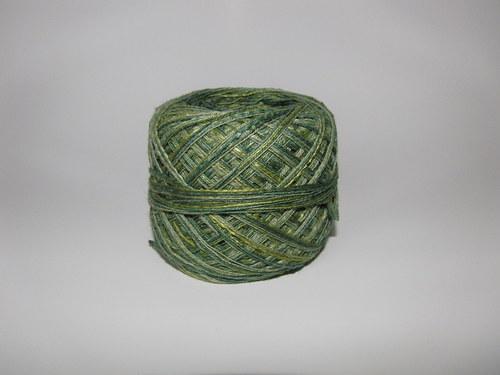 AJA - zelený melír 01