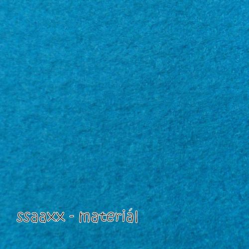 Dekorační filc 3 mm - tyrkysová