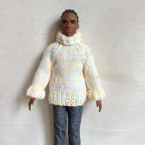 Pletený svetr pro Kena