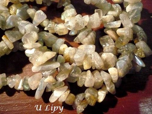Minerální zlomky 90 cm - labradorit