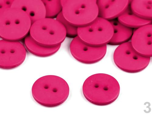 Knoflík 15,2mm (10ks) - růžová