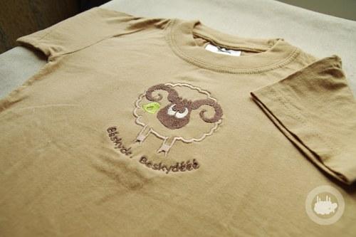 Beránek z Beskyd - tričko BE - 4 roky