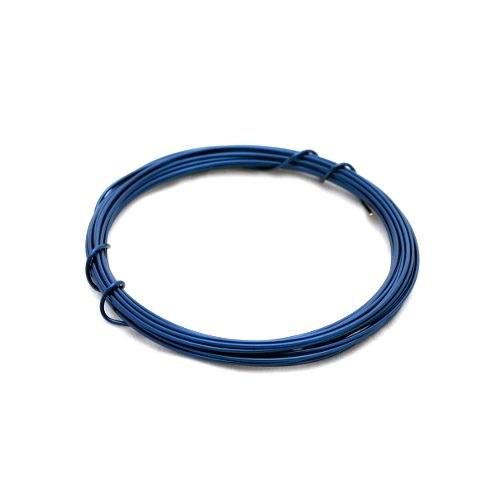 Lakovaný měděný drát 0,3 mm - návin 5 m - modrý
