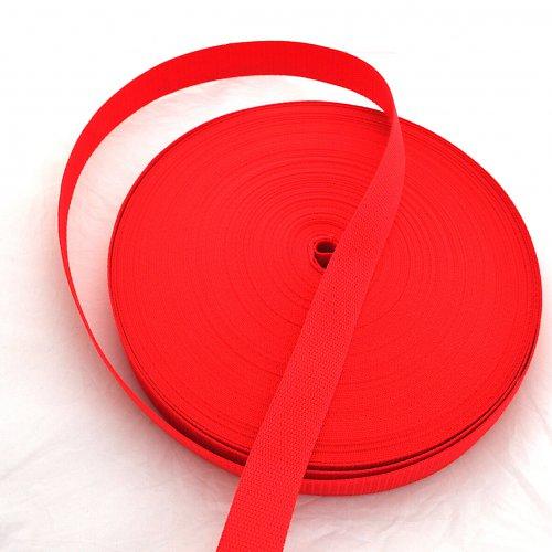 Popruh POP 4 cm - červená