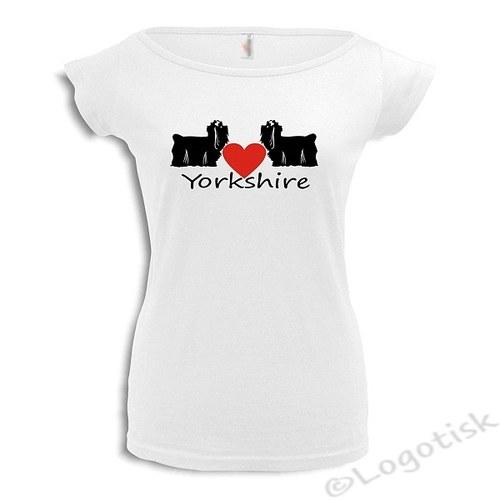 Dámské tričko I Love Yorkshire *2