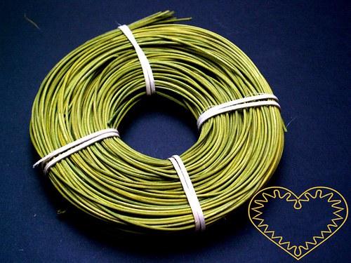 Zelený pedig ø 1,75 mm - balení 100 g