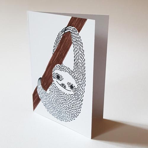 Přáníčko lenochod