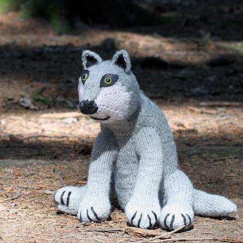 popis - návod na pleteného vlka