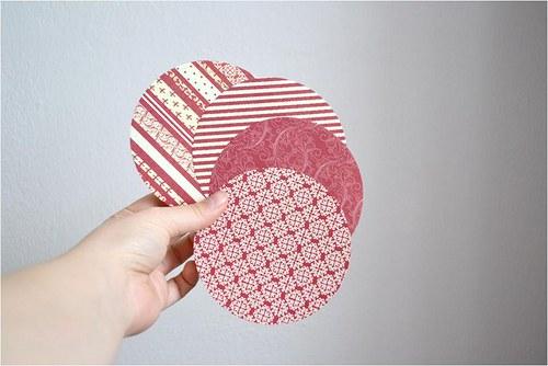 Oboustranný designový origami papír, 10cm, balení