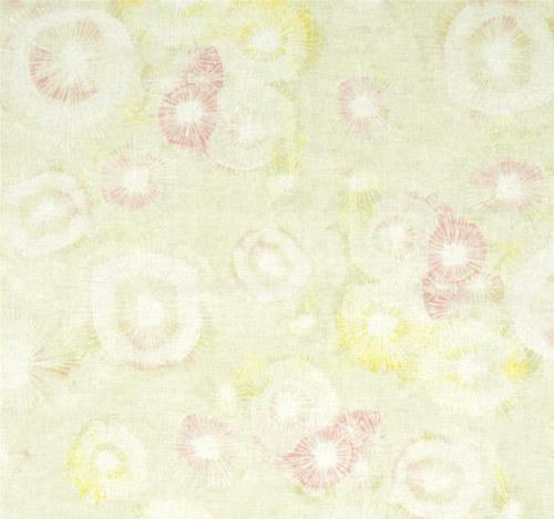 Látka The Sweet Life zeleno/růžová batika
