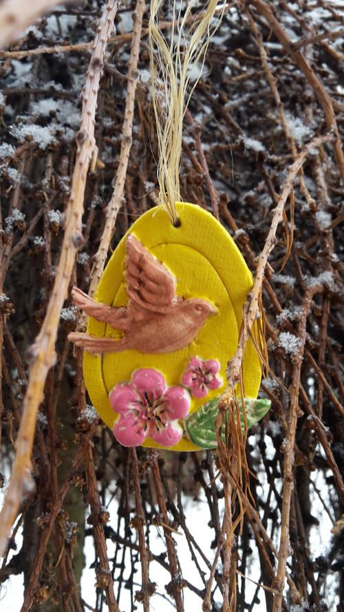 Velikonoční dekorace k zavěšení...