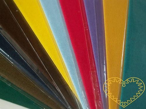Barevné zažehlovací záplaty 17 x 45 cm - 1 ks