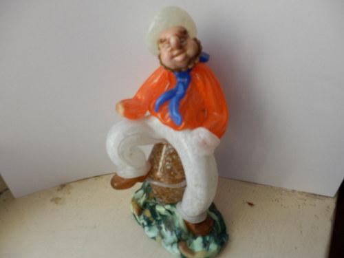 Námořník - hutní figurka, bez ručičky
