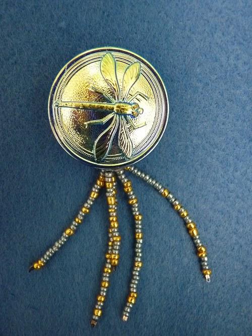 Zlatavá vážka - brož