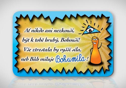 Poetická magnetka se jménem Bohumil