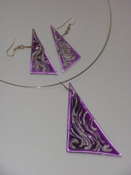 Skleněné šperky - sady