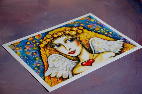 Anděl  -tisk