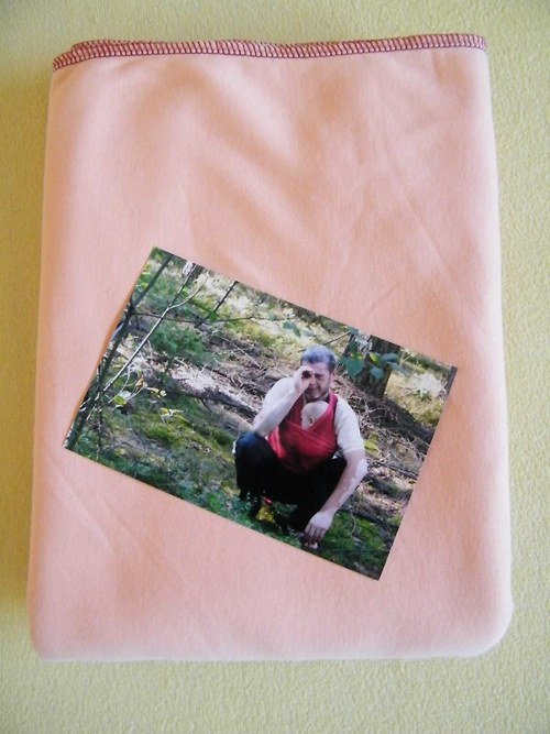 Elastický šátek meruňka