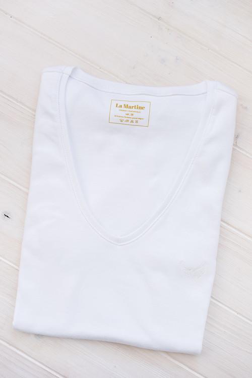 Dámské tričko s krátkým rukávem bílé