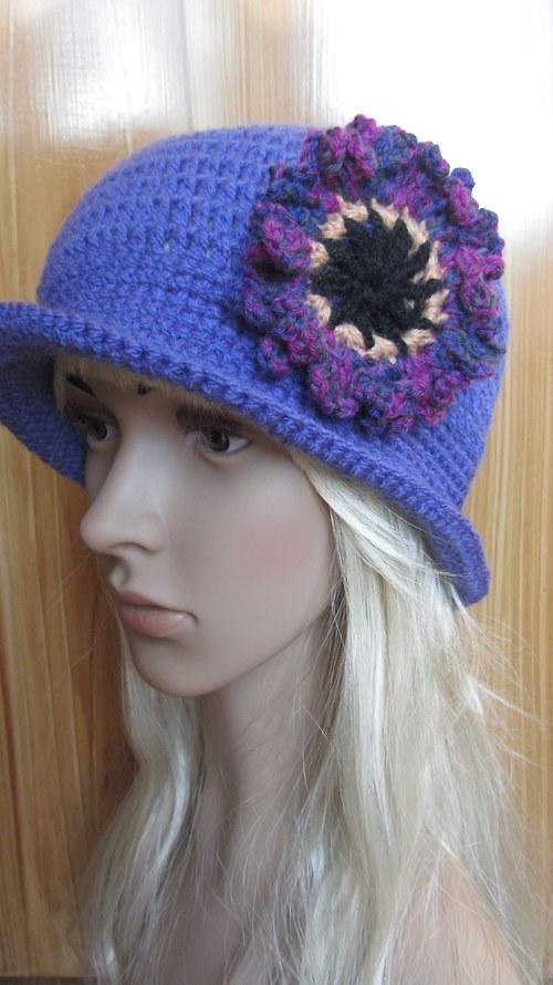 Rozkvetlé šeříky - klobouk