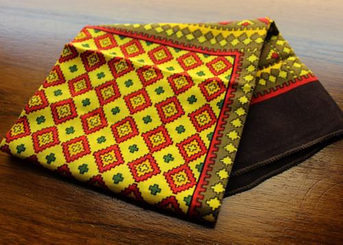 Klasický bavlněný šátek