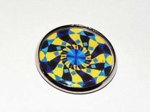 MandalaStyl Vnitřní klid v modré - magnetka