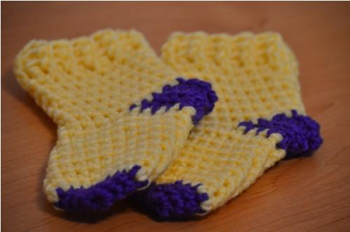 Ponožky žluté