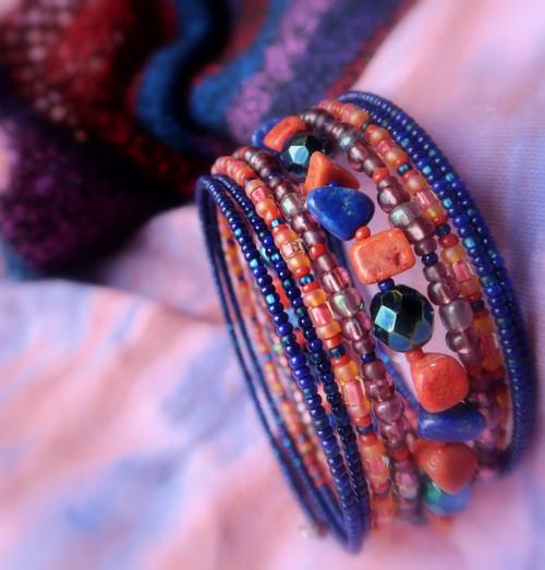korál a lapis lazuli nejen pro ryby a býky...