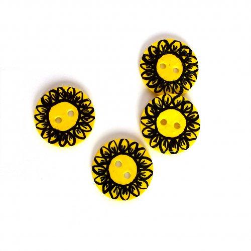 Zářivé slunečnice (3 ks)