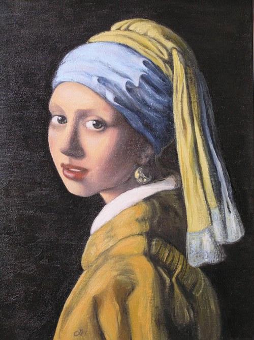 Dívka s perlovou náušnicí (Vermeer)