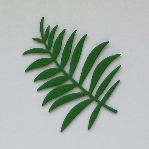 Kapradina  (z pěnovky - moosgummi)