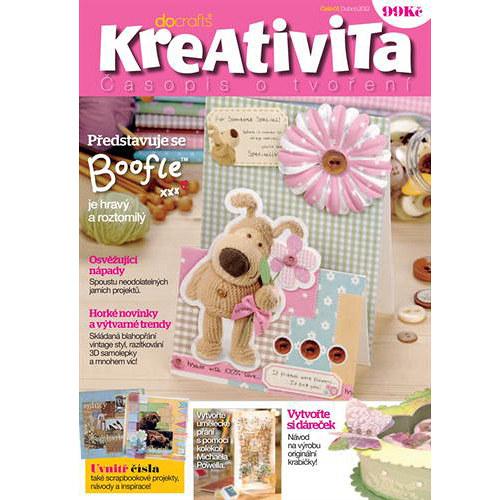 SLEVA Časopis Kreativita - v češtině!!!