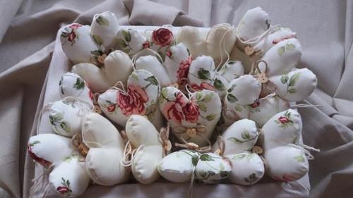 Srdíčka růže
