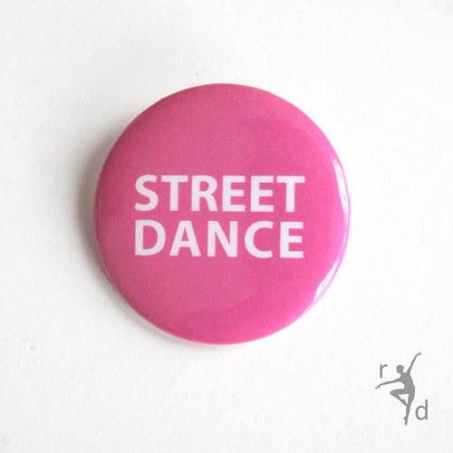 Placka STREET DANCE (Odznak) - Doprodej