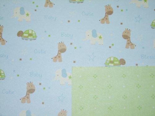 Oboustraný papír Žirafa a hroch