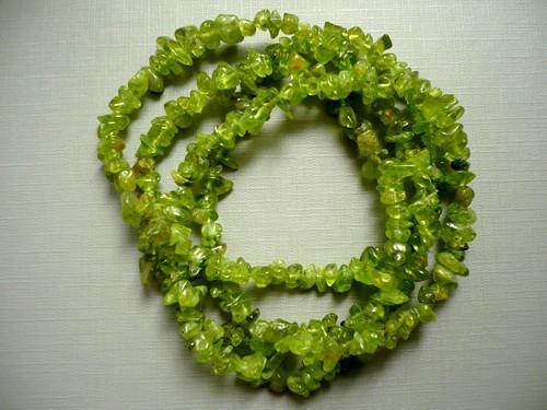 Minerální zlomky 90 cm - olivín