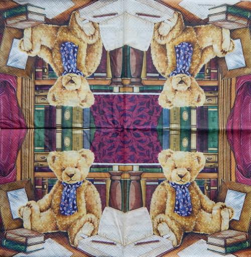 Teddy v knihovně 1432