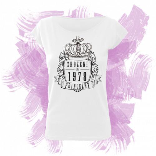 Tričko elegance s motivem zrození princezny 5