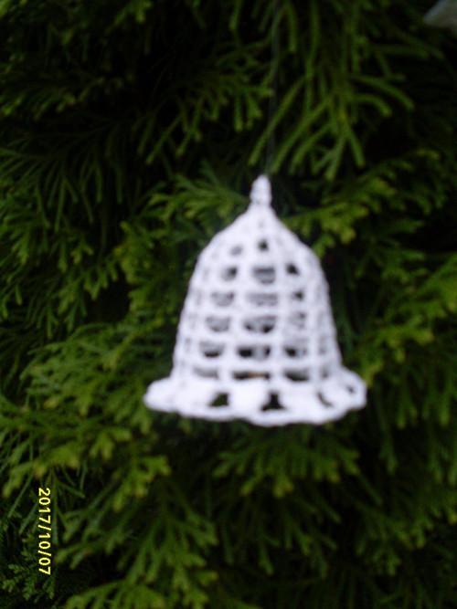 háčkováný zvoneček