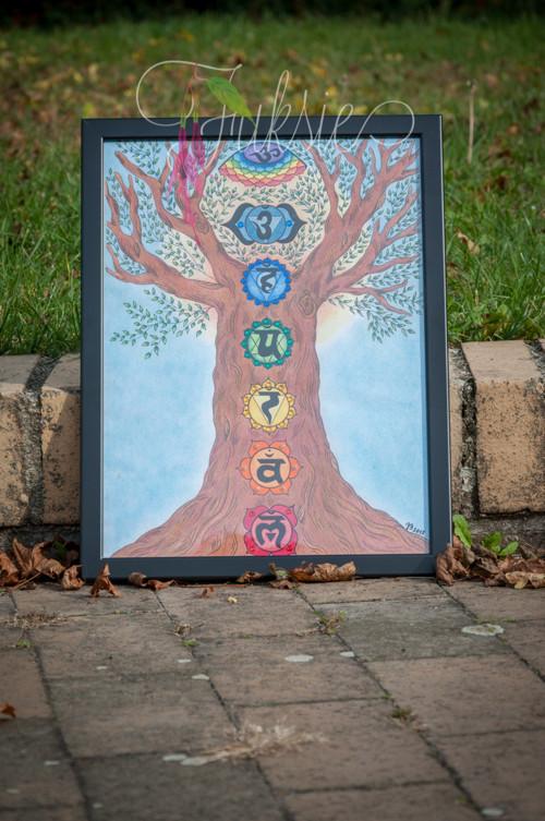 Čakrový strom života