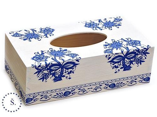 krabička - box - obal na kapesníky