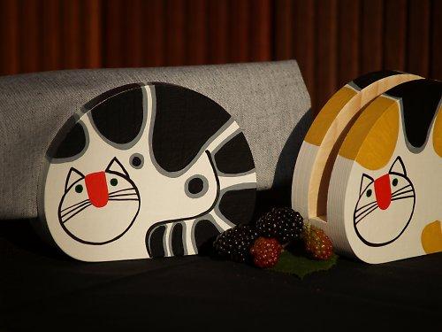 Kočka - černobílá